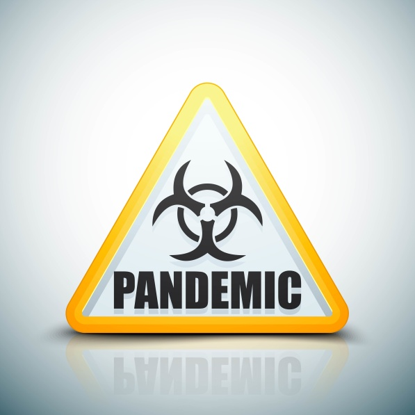 Pandemic Danger sign