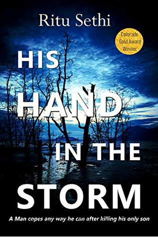 his hand in the storm image