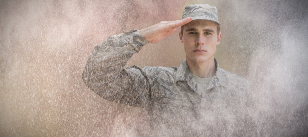 Salute solider in light background image.jpeg
