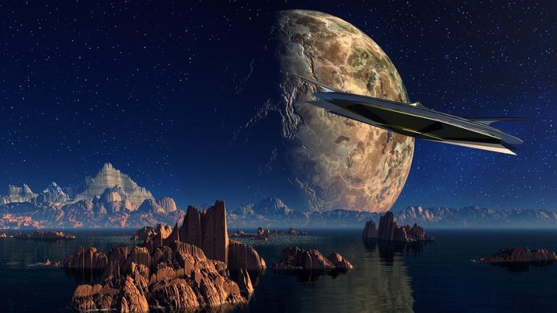 sci fi image multitude image
