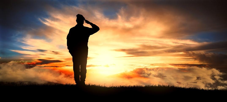 Salute military at sunset image.jpeg